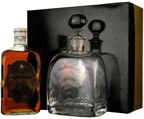 glen grant 20 year old directors reserve silver jublee speyside single malt scotch whisky whiskey