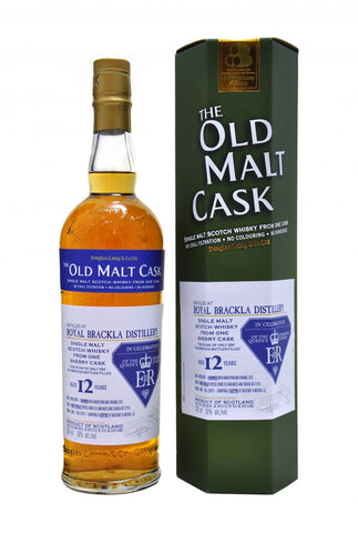 royal, brackla, 12, year, old, queens, diamond, jubilee, douglas, laing, old, malt, cask, single, malt, scotch, whisky, whiskey