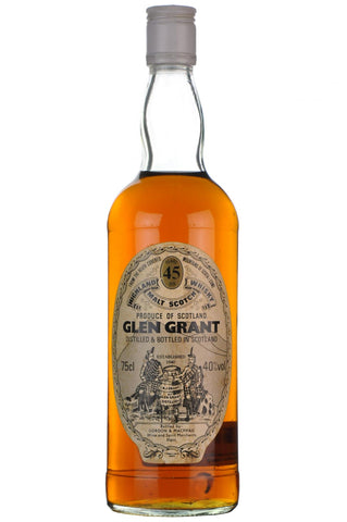 glen grant 45 year old gordon and macphail speyside single malt scotch whisky whiskey