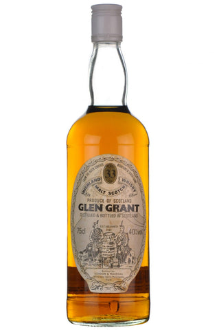 glen grant 33 year old gordon and macphail speyside single malt scotch whisky whiskey