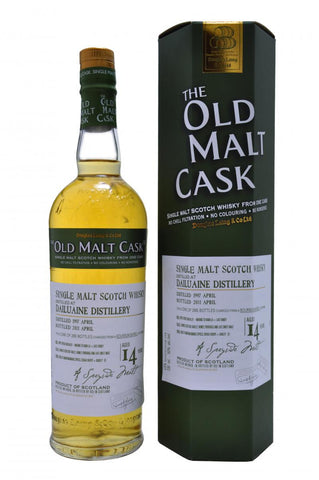 dailuaine distilled 1997, bottled 2011, 14 year old bottled by douglas laing old malt cask speyside single malt scotch whisky whiskey