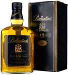 ballantine's 12 year old blended scotch whisky whiskey