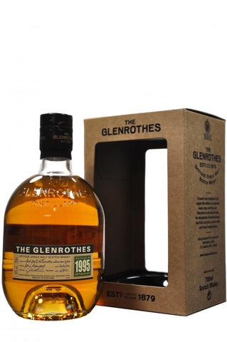 glenrothes distilled 1995, bottled 2012, speyside single malt scotch whisky whiskey