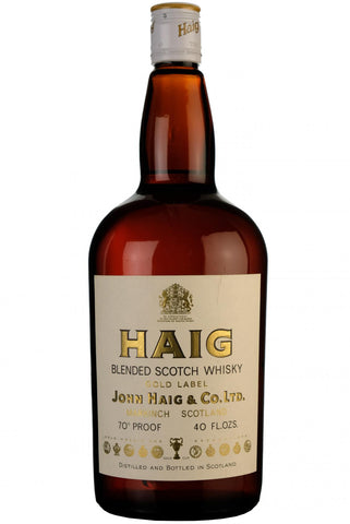 haig gold label 1970s, blended scotch whisky