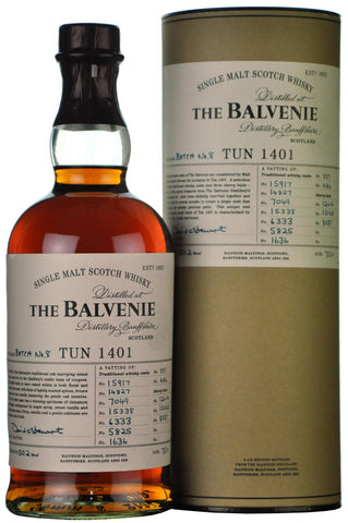 balvenie tun batch 8, single malt scotch whisky