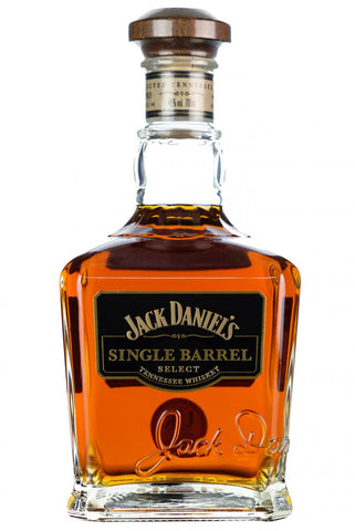 jack daniel's single barrel select, tennessee whiskey
