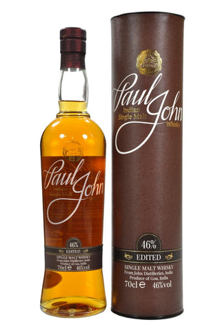 paul john edited indian whisky