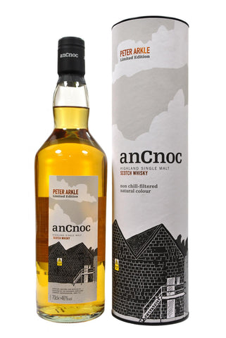 an cnoc forth edition peter arkle, speyside single malt scotch whisky whiskey