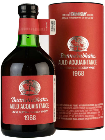 Bunnahabhain 1968-2002 | 34 Year Old Auld Acquaintance