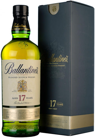 ballantine 17 year old blended scotch whisky