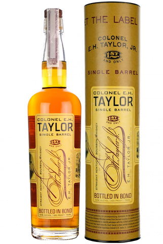 E.H. taylor single barrel, kentucky straight bourbon whiskey