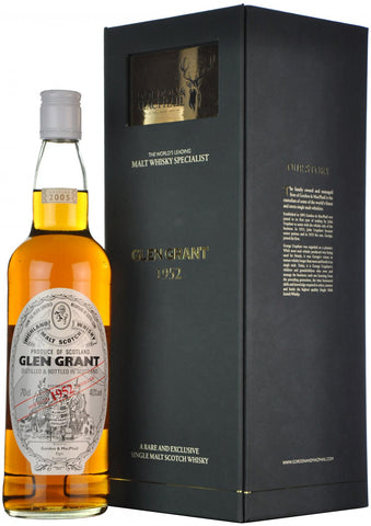 glen grant 1952-2005, gordon & macphail, speyside single malt scotch whisky