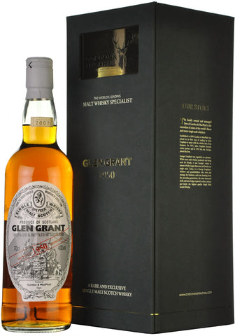 glen grant 1950-2007, gordon & macphail, speyside single malt scotch whisky