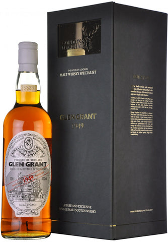 glen grant 1949-2007, gordon & macphail, speyside single malt scotch whisky
