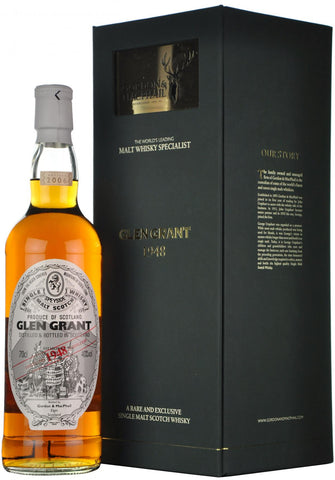 glen grant 1948-2006, gordon & macphail, speyside single malt scotch whisky