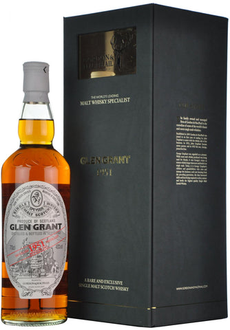 glen grant 1951-2013, gordon & macphail, speyside single malt scotch whisky