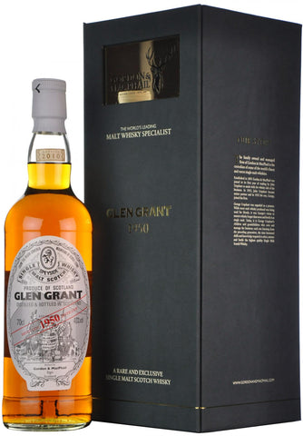 glen grant 1950-2010, gordon & macphail, speyside single malt scotch whisky