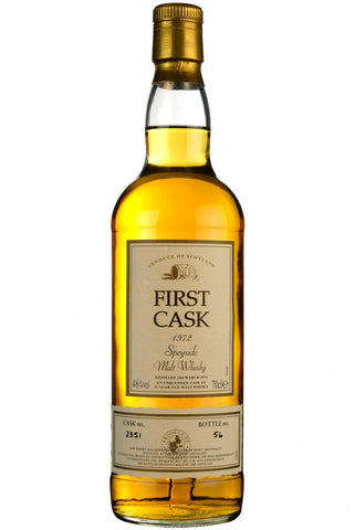 macduff 1972-2003, 31 year old, first cask 2351, single malt scotch whisky