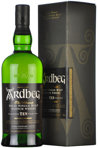 ardbeg 10 year old, bottled 2013, islay single malt scotch whisky