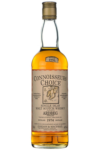 ardbeg 1974, bottled 1996, gordon and macphail, connoisseurs choice, islay single malt, scotch, whisky, whiskey