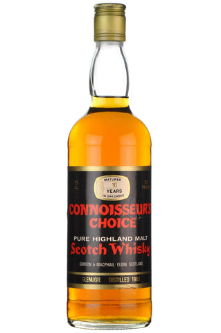 glenugie 1963 - 16 year old, connoisseurs choice 1970s, highland single malt scotch whisky