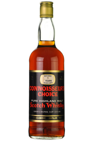 cragganmore 1969, 11 year old, connoisseurs choice 1970s, speyside single malt scotch whisky