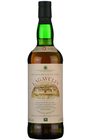 lagavulin 12 year old white horse 1980s, islay single malt scotch whisky