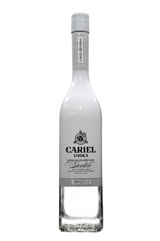 cariel vodka, swedish batch blended vodka
