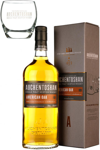 auchentoshan american oak, lowland single malt scotch whisky