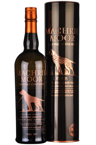 arran machrie moor, the peated, fifth edition release 2014, single malt scotch whisky
