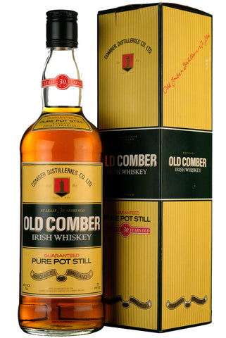old comber 30 year old, irish whiskey