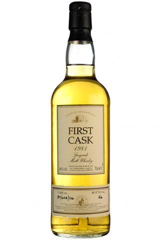 Convalmore 1981-1997, 16 year old, first cask 89/604/116, single malt scotch whisky