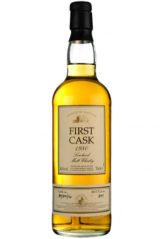Bladnoch 1980-1997, 16 year old, first cask 89/591/16, single malt scotch whisky