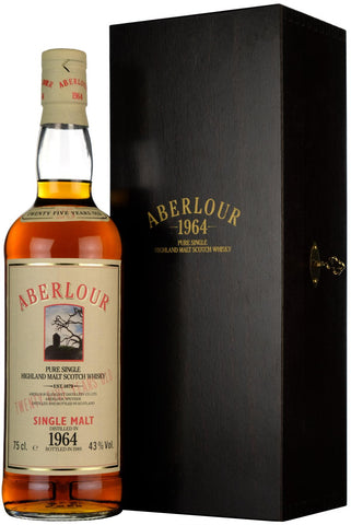 aberlour 1964 25 year old bottled 1989 speyside single malt scotch whisky