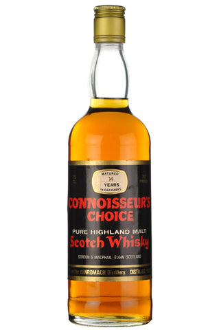 benromach 1965, connoisseurs choice 1970s, highland single malt scotch whisky