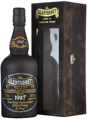 glenturret 1967 bottled 1988 highland single malt scotch whisky