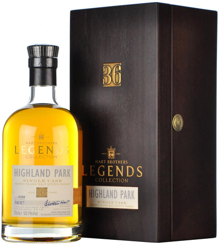 highland park 1977 36 year old legends collection