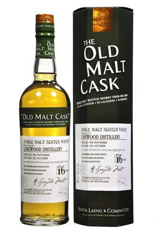 linkwood 1996-2013 16 year old malt cask by hunter laing