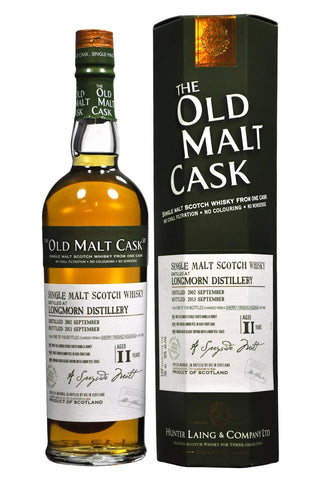 longmorn 2002-2013 11 year old malt cask by hunter laing