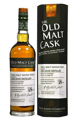 Glencadam 1995-2014 18 year old malt cask by hunter laing