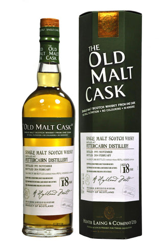 Fettercairn 1995-2014 18 year old malt cask by hunter laing