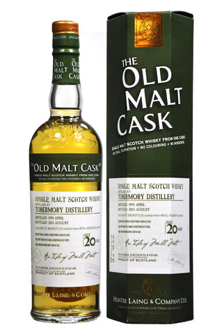 Tobermory 1994-2014 20 year old malt cask by hunter laing