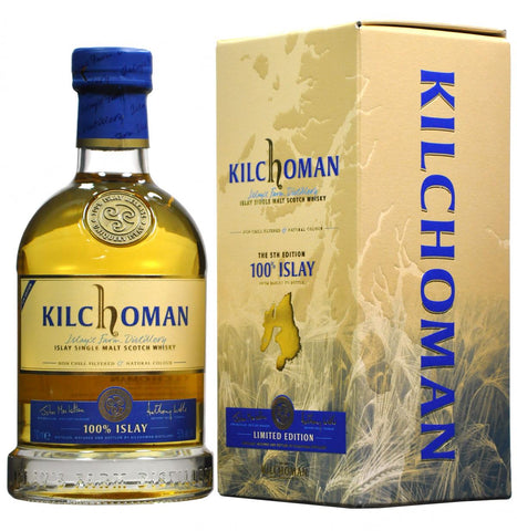 Kilchoman 5th Edition 100% islay single malt scotch whisky