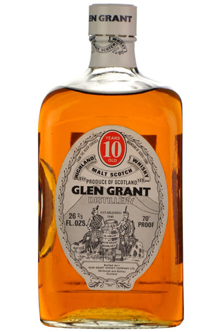 glen grant 10 year old bottled 1970s speyside single malt scotch whisky