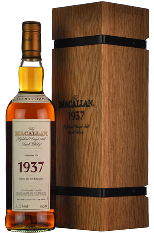 macallan 1937, fine and rare 37 year old,