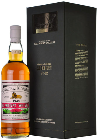glenlivet 1948, gordon and macphail bottling, single malt whisky,