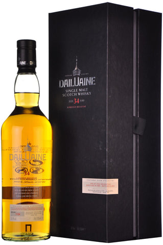 dailuaine 34 year old, diageo special relase 2015,