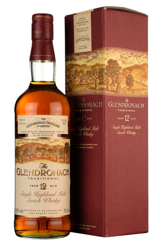 glendronach 12 year old sherry casks 1990s, speyside single malt scotch whisky