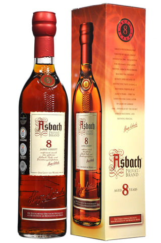 Asbach 8 Year Old Privatbrand German Brandy