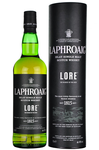 laphroaig lore, islay single malt scotch whisky,